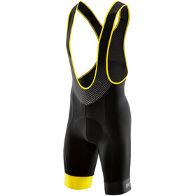 Skins Cycle DNAmic Bib Half Tights Men Black/Citron